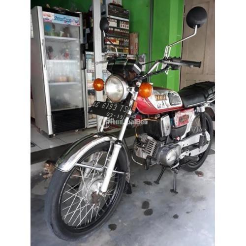 Motor Klasik Yamaha L2S Bekas 1982 Pengapian CDI Anti