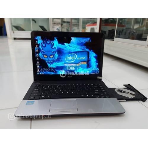Laptop Acer Aspire E1-431 Core i7 Bekas Second Mulus Murah Ram 4 Gb - Surakarta