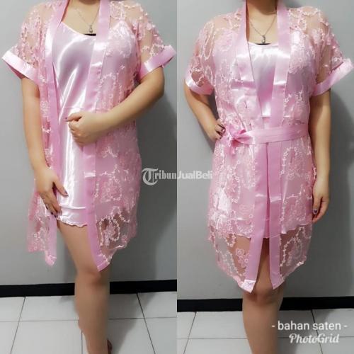 Baju Tidur Daster Motif Daster Kimono Bagus Murah - Sragen