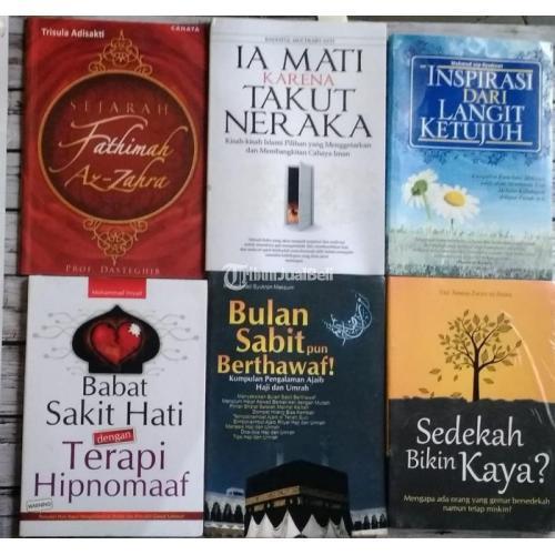 Buku Murah Berbagai Judul dan Masih Bagus Paket Serba 90 Ribuan Saja - Jogja