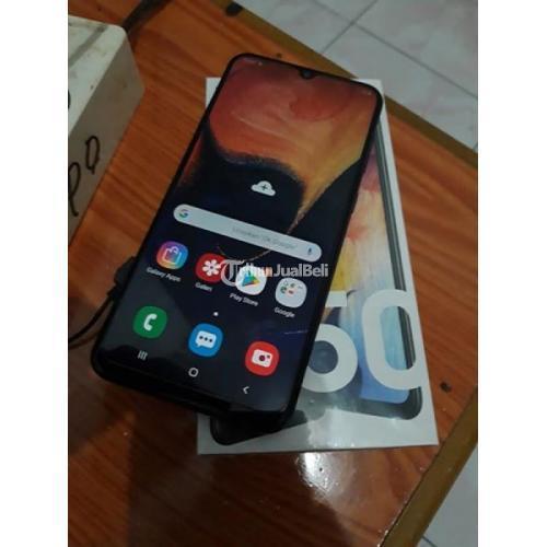 Hp Samsung A50 Bekas Android Ram 4gb Murah Like New Lengkap Normal Di Balikpapan Tribunjualbeli Com