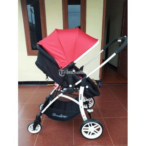 Stroller Bayi Murah Merek Cocolatte Pendio Bekas Like New Mulus Bisa 3 Posisi - Palembang
