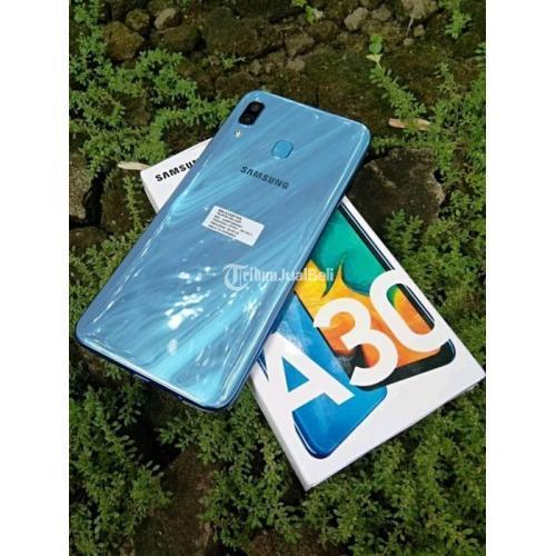 Hp Samsung A30 Bekas Like New Ram 4gb Garansi Sein Lengkap Murah Di Jakarta Timur Tribunjualbeli Com