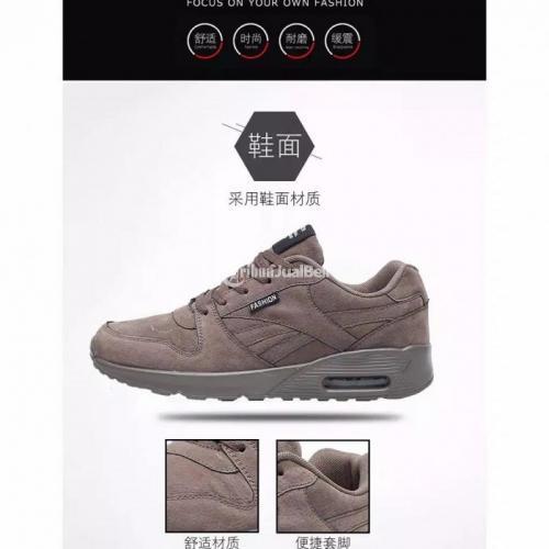 Sepatu Sneakers Pria Murah Running Shoes Sport New Import Lengkap - Medan