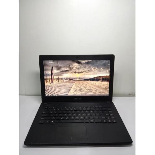 Laptop ASUS X450EA Ram 6GB AMD E2-3800 APU With Radeon HD  Laptop Bekas Normal Mulus - Solo