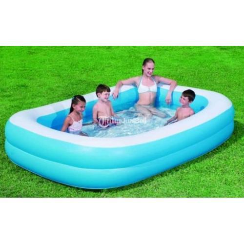 Kolam Renang 305cm Blue Retangle Family Pool 305 cm - Jakarta