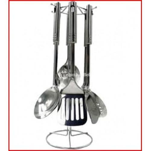 Spatula Set Idealife IL 173 + Hanger Best Seller - Jakarta