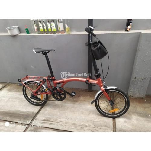 Sepeda Lipat Murah Trifold 1S Bekas Mulus Normal Harga