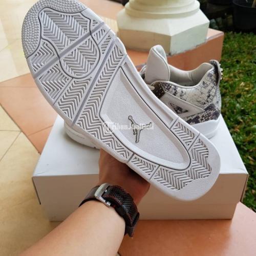 Sepatu Sneakers Nike Air Jordan 4 Premium Snakeskin VNDS 100% Authentic - Surabaya