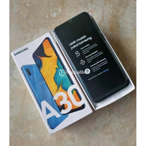 Hp Samsung A30 Bekas Android 4g Lte Murah Lengkap Mulus Normal Di Makassar Tribunjualbeli Com