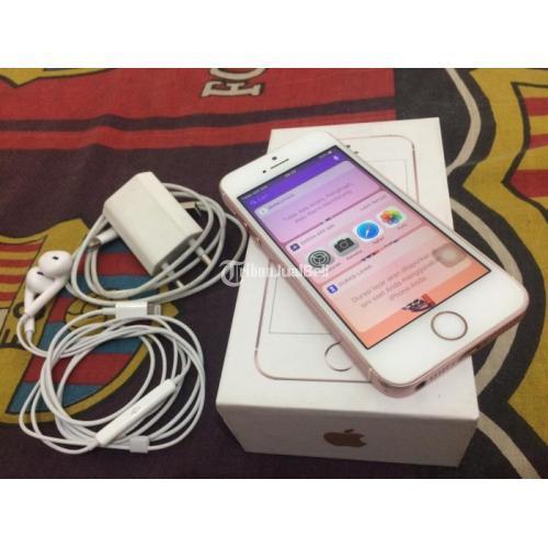 IPhone SE 64gb J/A Bekas Bagus Fullset Normal No Minus ...