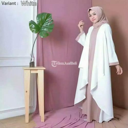 Baju Gamis Rempel Murah Model Terbaru Bahan Berkualitas - Jawa Tengah