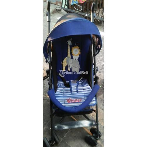 Stroller Bayi Murah Merek Pliko Second Mulus Normal Terawat Siap Pakai - Surakarta