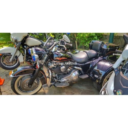 Motor Harley Davidson Roadking Trike 1995 Antik  Langka Mesin Evo Karbu - Bogor