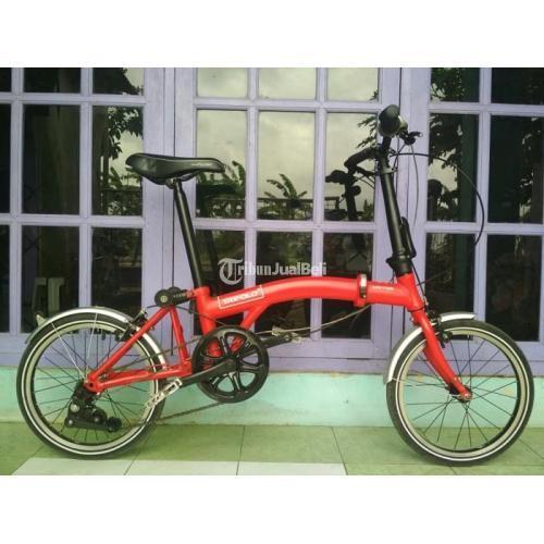 Sepeda Lipat Murah Merek United Trifold 3 Bekas Mulus Normal Siap Pakai Di Banyumas Tribunjualbeli Com
