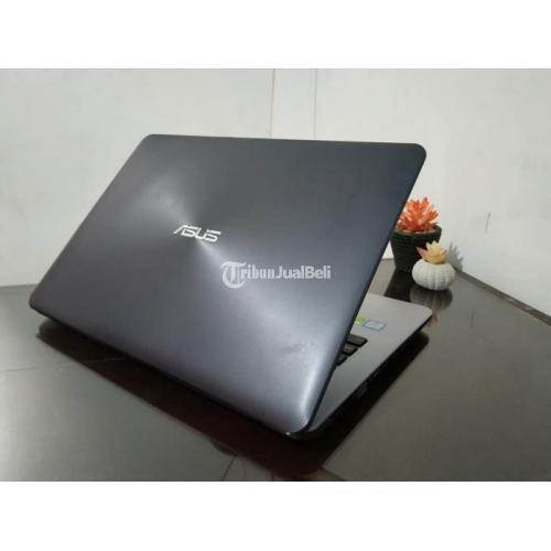 Laptop Asus A442UR Core i7 Fullset Laptop Ram 8GB Bekas Mulus Normal - Solo