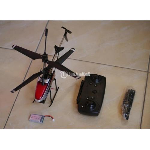 Mainan Anak Helicopter Remote Kondisi Baru Terbang Stabil Sudah Altitude Hold - Solo