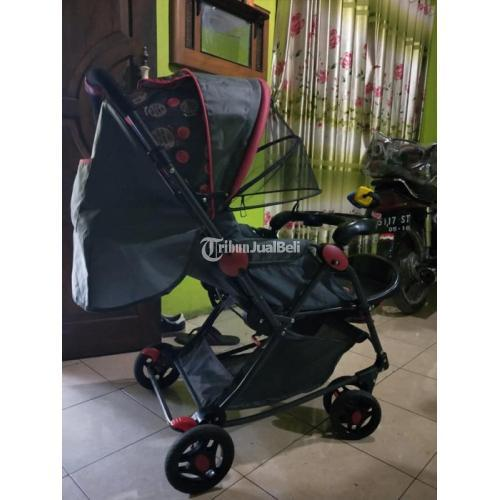 Stroller Bayi Murah Merek Pliko Bekas Mulus Normal Siap Pakai - Bantul