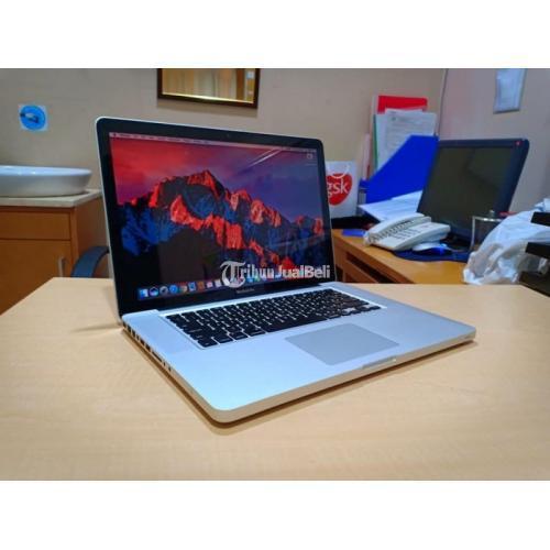 Laptop Apple Macbook Pro 15 Core i5 Mid 2010 Design Dual VGA Normal Siap Pakai - Jakarta