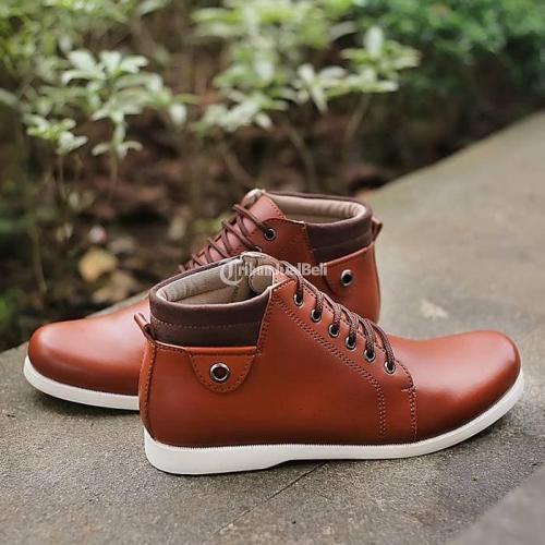 Sepatu Casual Elocini Murah Men Shoes Bahan Kulit Sintetis Berkualitas - Jakarta