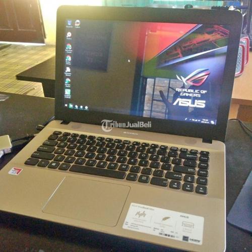 Laptop Asus Vivobook Max X441B Gaming Bekas AMD A9 Ram 4GB Murah Normal - Medan