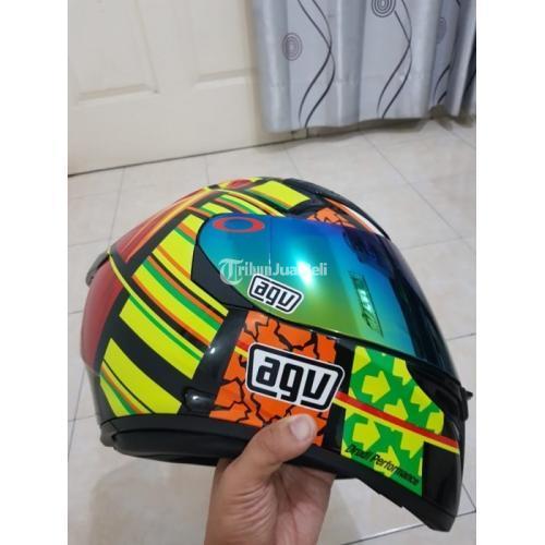 Helm Agv K3 Sv Element Bekas Full Face Murah Size L Mulus Lengkap Nego Di Jakarta Tribunjualbeli Com