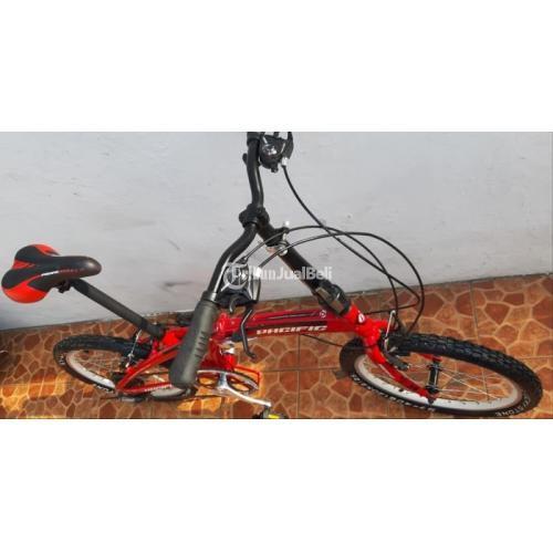 Sepeda Lipat Murah Pacific 2980 Tx Bekas Sadel Baru Mulus Normal Di Bekasi Tribunjualbeli Com