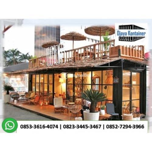 Rumah Kontainer Indonesia Modifikasi Container Hotel - Jakarta Utara