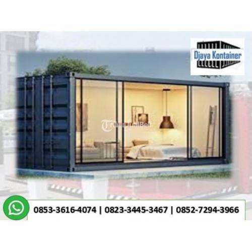 Rumah Kontainer Murah Toko Kantor Container Bekas - Medan