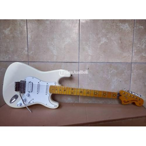 Gitar Listrik Strat Signed Richie Sambora Body Bashwood Neck Maple - Mojokerto
