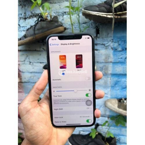 HP Iphone X 64gb Bekas Mulus Inter No Minus Lengkap Nego Murah - Yogyakarta