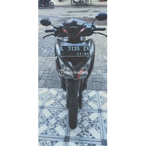 Motor Matic Murah Honda Vario Techno Bekas Tahun 2014 Mulus Normal - Surabaya