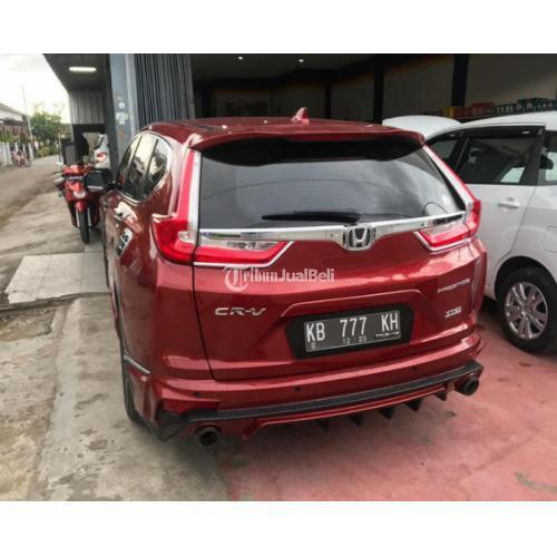 Honda CRV 1.5L Turbo prestige RED CANDY 2018 Pajak On barang Istimewa Bekas Terawat - Pontianak