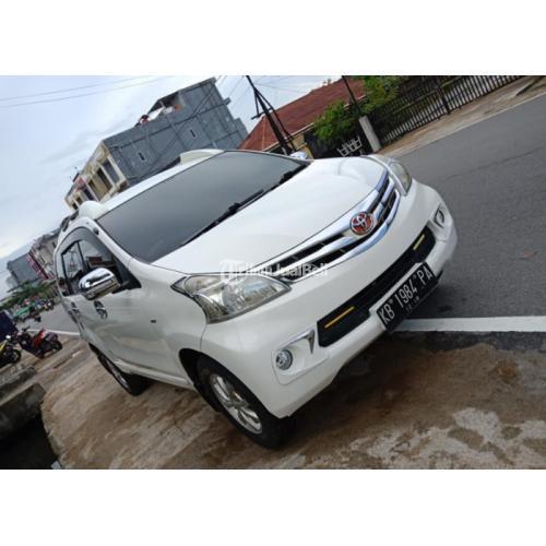 Toyota Avanza All New G (ManuaL) 2013 Bekas Bagus Warna Putih Mobil Original - Pontianak