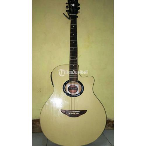 Gitar Akustik Elektrik Yamaha APX 500 II Bonus Tas dan Capo - Solo