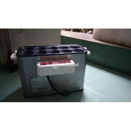 Mesin Sosis Telur Sostel 10 lubang Listrik merk Getra Harga Murah - Bandung