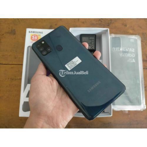 HP Samsung A21s Bekas Harga Rp 2,75 Juta Ram 6GB 64GB Murah Lengkap - Yogyakarta