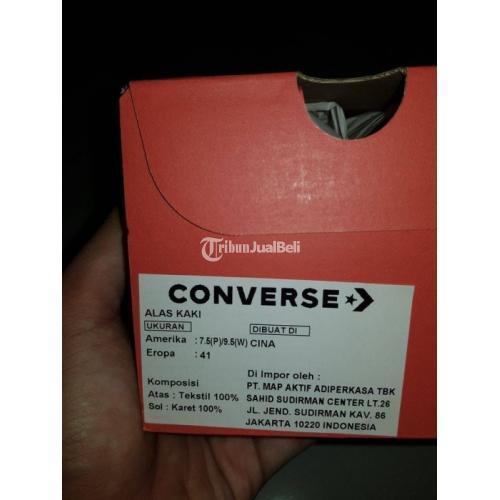 Sepatu Converse Chuck 70 Low Black Egret Harga Rp 550K Lengkap BNIB Murah - Bekasi