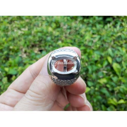 Ring Cincin Perak Hongkong 925 Kombinasi Zircon Mewah Harga Murah - Jakarta