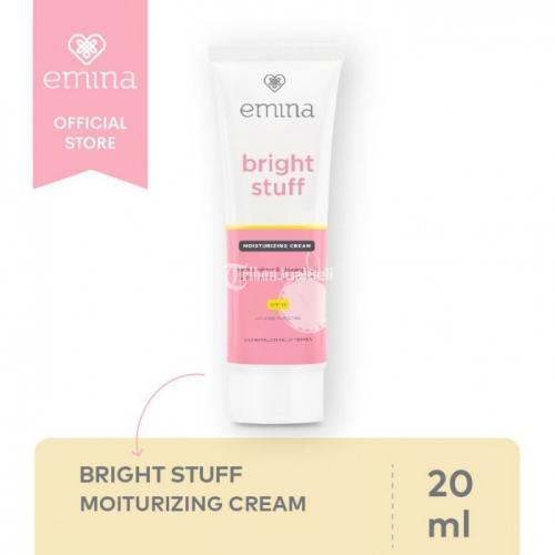 Emina Bright Stuff Moisturizing Creaam 20ml With SPF 15 - Jakarta
