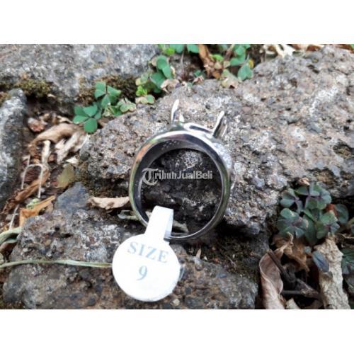 Ring Perak Hongkong 925 Mewah Kombinasi Zircon PRK042 - Jakarta