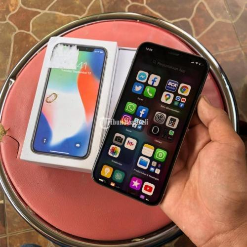 HP Bekas iPhone X 64GB Ex Inter Fullset Normal Mulus Harga ...