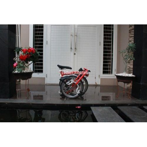 Sepeda Lipat Bekas Brompton M3L Red 3 Speed Normal Harga ...