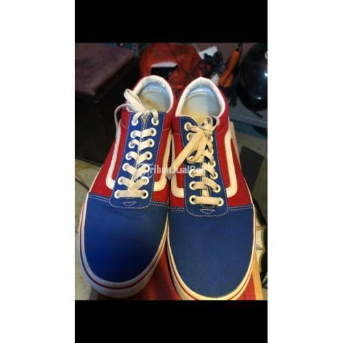 Sepatu Vans Old Skool Ward Checker Second Bagus Harga Murah - Jakarta
