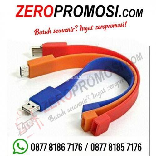 Souvenir USB Gelang Kotak FDBR01 Kapasitas 4GB - Tangerang