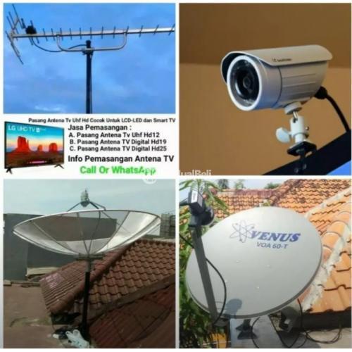 Pasang Antena TV Murah Terdekat Benda - Tangerang
