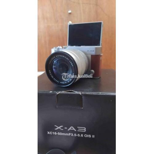 Kamera Mirrorless Bekas Fujifilm X A3 Lengkap Lensa Kit Harga Nego - Malang