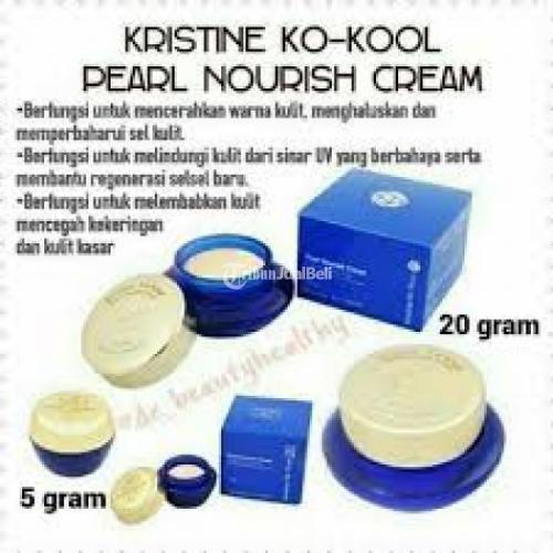 Sunscreen Kristine Ko-Kool Pearl Cream 5 gram Cocok Sebelum Makeup - Bandung