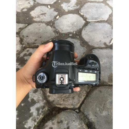 Kamera DSLR Bekas Canon 60D BO Fullset Norma Harga Murah - Semarang