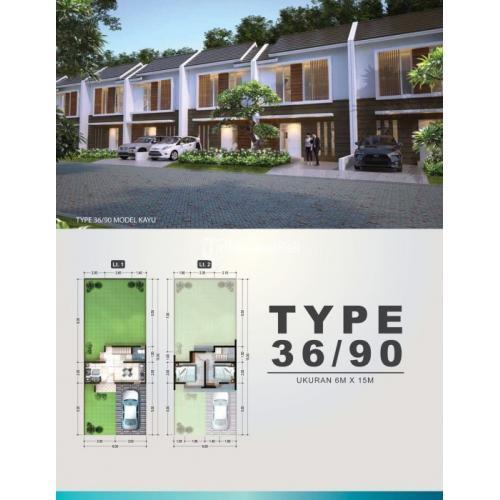 Rumah Spring Residence Type 36 Kayu Sidoarjo Jasa Marga - Sidoarjo